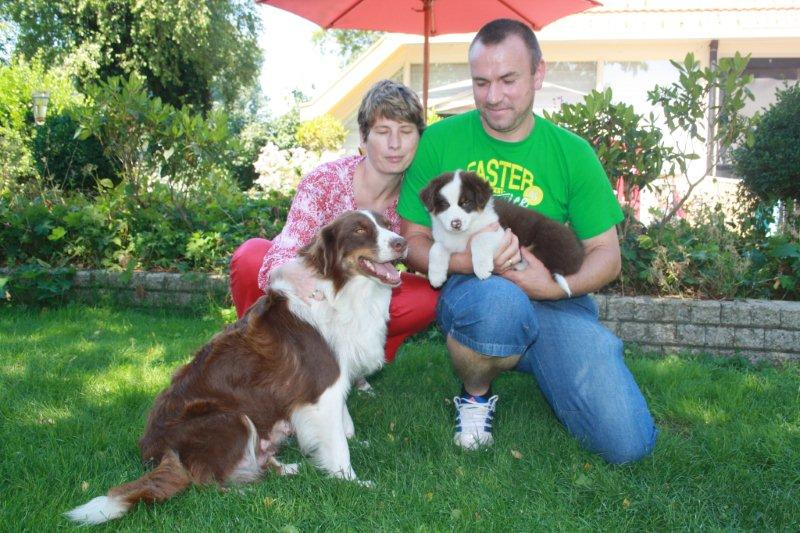 Myrah (Messy) woont nu in Tildonk (België) bij Steven, Ann, Gilles en Emiel
