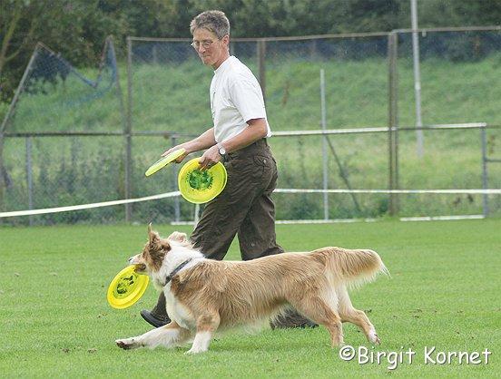 Leve de frisbee!
